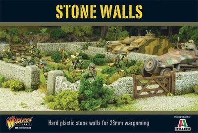 Stone Walls plastic boxed set - Warlord Games