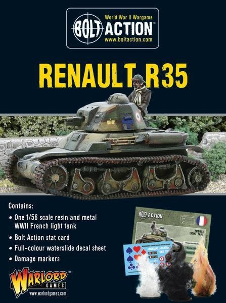 Renault R35 - French - Bolt Action