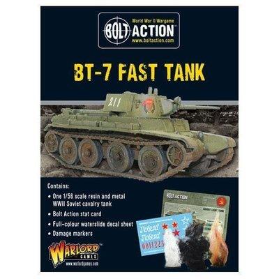 Soviet BT-7 fast Tank - French - Bolt Action