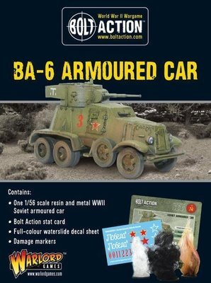 BA-6 Armoured Car - Soviet - Bolt Action