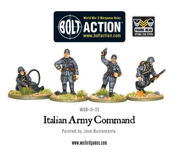 Italian Army command - Allies - Bolt Action