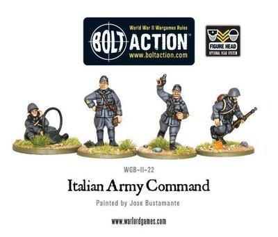 Italian Army command - Allies - Bolt Action