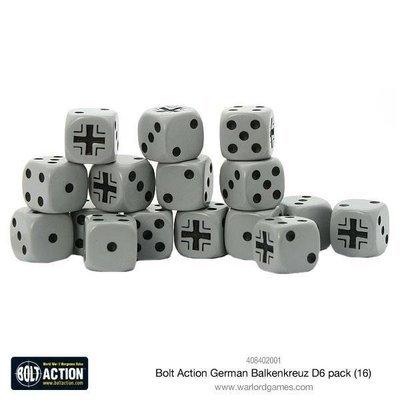 Bolt Action German Balkenkreuz D6 pack - Blau - Bolt Action