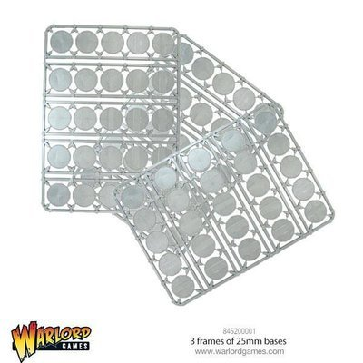 3 frames of 25mm bases - Warlord Games