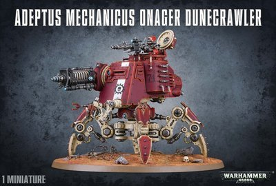 ADEPTUS MECHANICUS ONAGER DUNECRAWLER - Warhammer 40.000 - Games Workshop