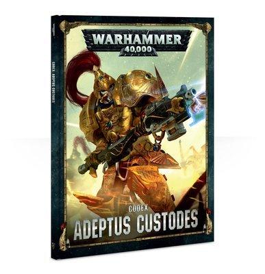 Codex: Adeptus Custodes (HB DEUTSCH) - Warhammer 40.000 - Games Workshop