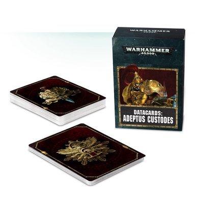 Datakarten: Adeptus Custodes Deutsch - Warhammer 40.000 - Games Workshop