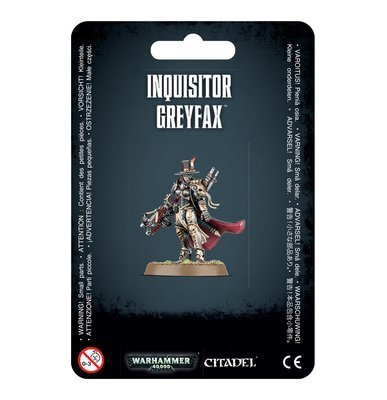 Inquisitor Greyfax - Warhammer 40.000 - Games Workshop