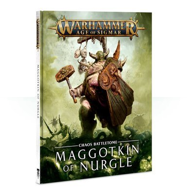 Battletome: Maggotkin of Nurgle (English) - Warhammer Age of Sigmar - Games Workshop