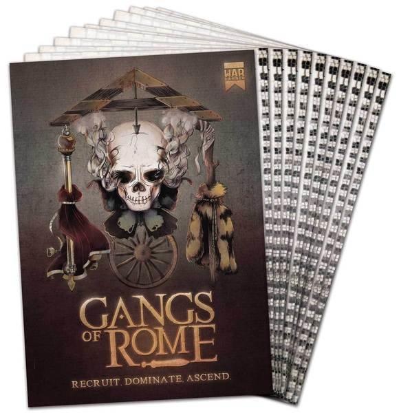 Gangs of Rome Rulebook English - Regelbuch - Warlord Games