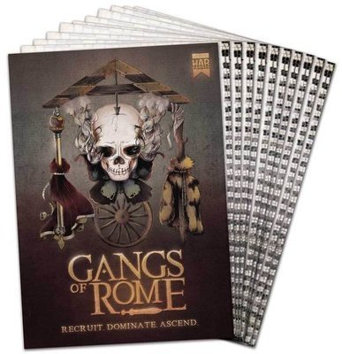 Gangs of Rome Rulebook English - Regelbuch - Warlord Games