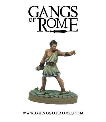 Fighter Quintus - Gangs of Rome - Warlord Games