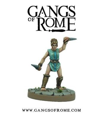 Fighter Nonus - Gangs of Rome - Warlord Games