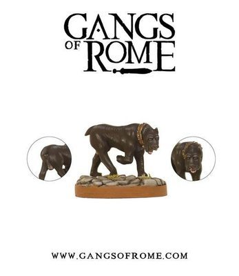 Fierce Mastiff - Gangs of Rome - Warlord Games