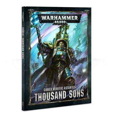 CODEX: THOUSAND SONS (HB) (English) - Warhammer 40.000 - Games Workshop