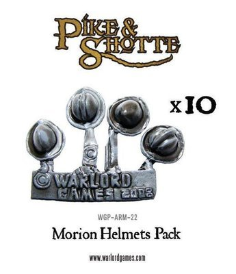 Morion helmets pack (40) - Pike & Shotte - Warlord Games