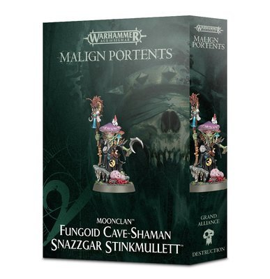 Fungoid Cave-Shaman Snazzgar Stinkmullett - Age of Sigmar - Games Workshop