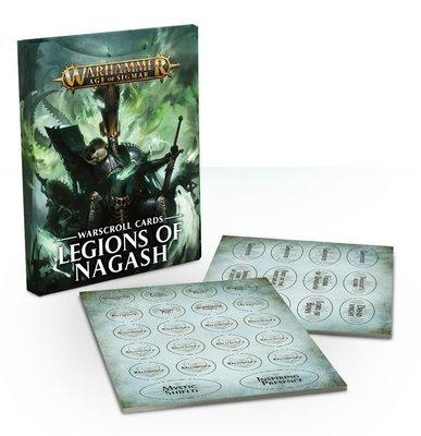 Warscroll Cards: Legions of Nagash (Englisch) - Warhammer Age of Sigmar - Games Workshop