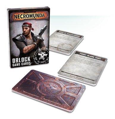 Necromunda Gang Cards: Orlock (English) - Games Workshop