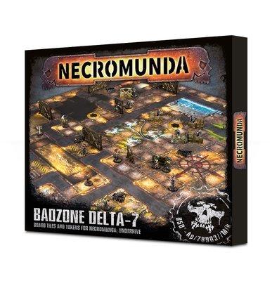 Necromunda: Underhive Badzone Delta-7 Spielfeld - Games Workshop