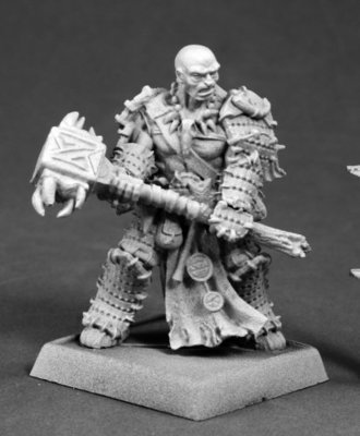 Crowe, Iconic Bloodrager - Pathfinder Miniatures - Reaper Miniatures