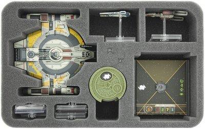Schaumstoffeinlage für Star Wars X-WING Shadow Caster, Raumschiffe und Zubehör  - Feldherr