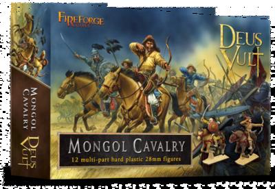 Mongol Cavalry (12) - Deus Vult - Fireforge Games