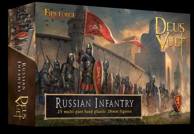 Russian Infantry (25) - Deus Vult - Fireforge Games