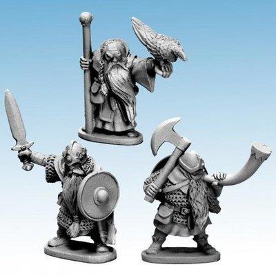 Dwarf King, Wizard & Musician - Oathmark