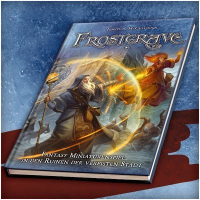 Frostgrave: Fantasy Miniaturenspiel in der vereisten Stadt - Frostgrave Regelbuch (DEUTSCH) 2. Auflage - Osprey/Northstar