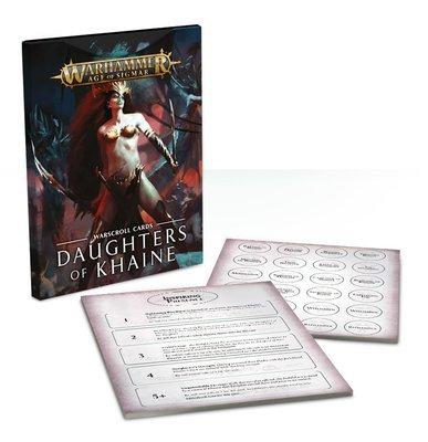 Warscroll-Karten: Daughters of Khaine (Deutsch) - Warhammer Age of Sigmar - Games Workshop