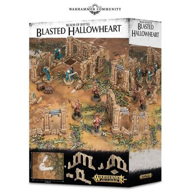 Realm of Battle: Blasted Hallowheart - Warhammer Age of Sigmar Gelände - Games Workshop