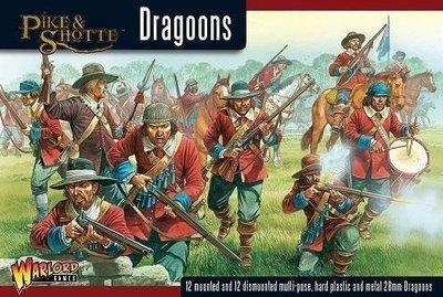 Dragoons boxed set - Pike & Shotte - Warlord Games