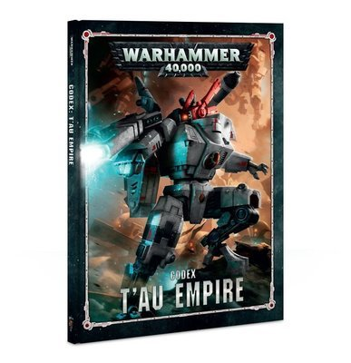 CODEX: T'AU EMPIRE (HB) (ENGLISH) - Warhammer 40.000 - Games Workshop