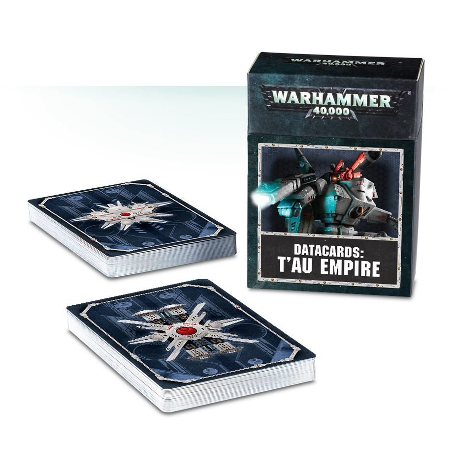 Datacards: T'au Empire (Englisch) - Warhammer 40.000 - Games Workshop