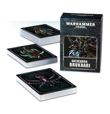 Datakarten: Drukhari Deutsch - Warhammer 40.000 - Games Workshop