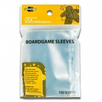 Sleeves - Boardgame Sleeves - USA (58x88mm) - 100 Pcs