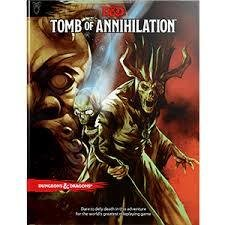 Dungeons & Dragons Tomb of Annihilation - English