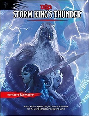 Dungeons & Dragons Storm King's Thunder - English