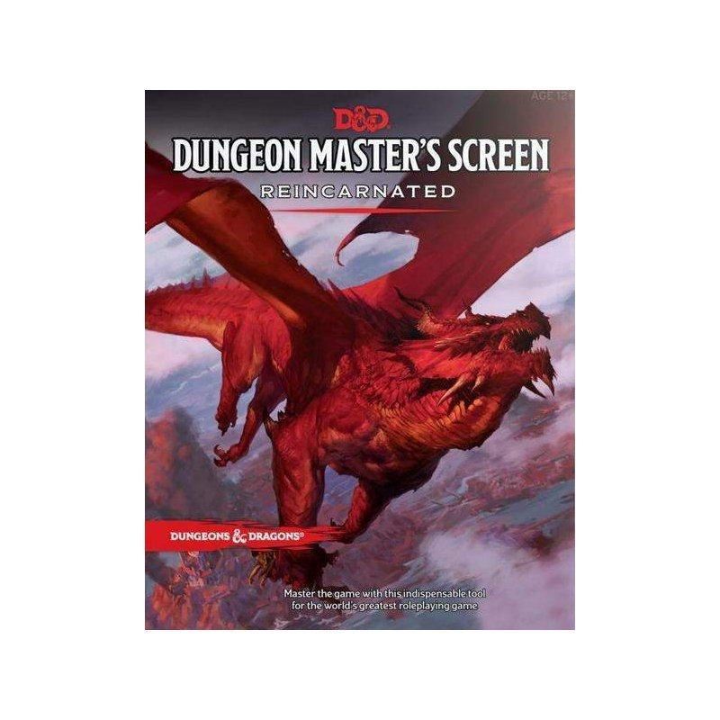 Dungeons & Dragons Dungeon Master's Screen - Dungeon Master's Screen Reincarnated - EN