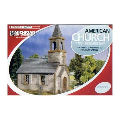American Church 1750 Modern Day - Tabletop Workshop