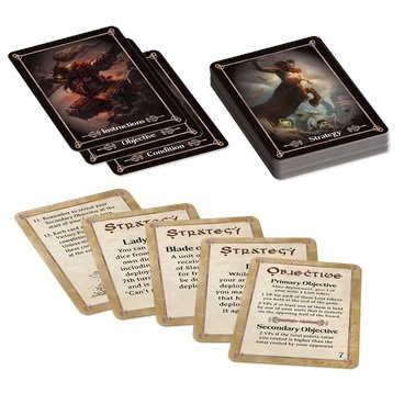 Battlefield Cards (English) - Erweiterung - Kings of War