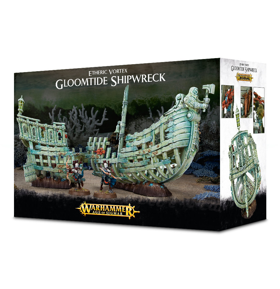 Etheric Vortex: Gloomtide Shipwreck - Idoneth Deepkin - Warhammer Age of Sigmar - Games Workshop