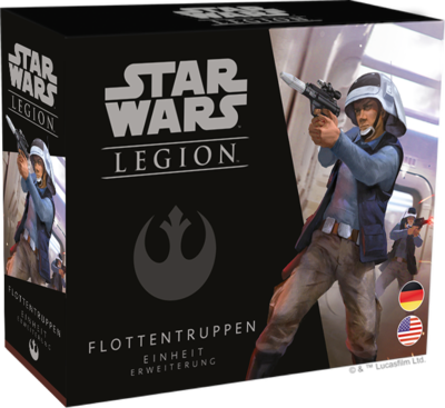 Star Wars Legion - Legion Flottentruppen Einheit - Fantasy Flight Games
