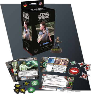 Star Wars Legion - Leia Organa Commander Erweiterung - Fantasy Flight Games