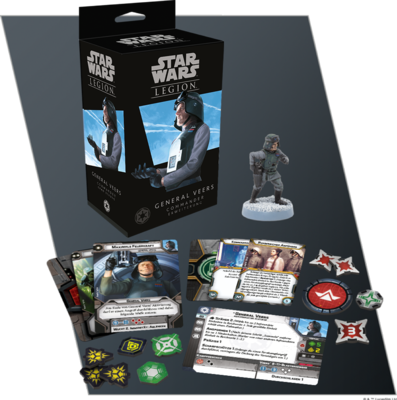 Star Wars Legion - General Veers Commander (D)- Fantasy Flight Games