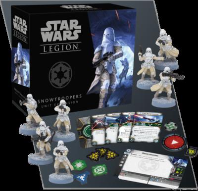 Star Wars Legion - Schneetruppen Snowtrooper Einheit Deutsch/English - Fantasy Flight Games