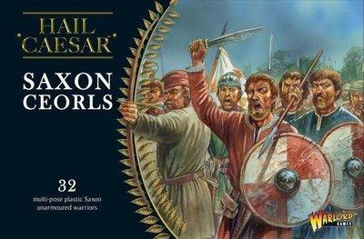 Saxon Ceorls - Hail Caesar - Warlord Games