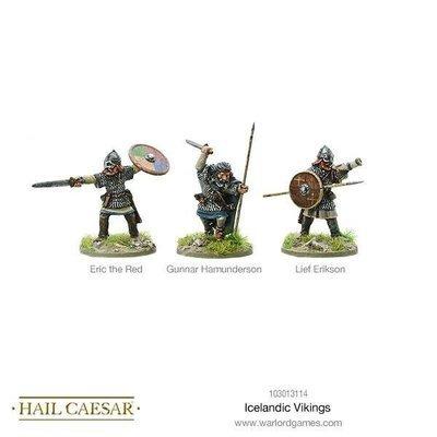 Icelandic Vikings - Hail Caesar - Warlord Games