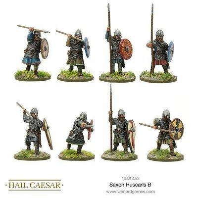 Saxon Huscarls B - Hail Caesar - Warlord Games